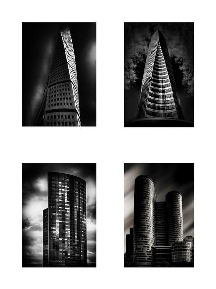 Baumann, Christina - Towers (Serie) - Urkunde