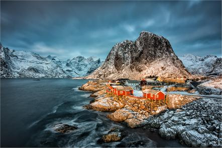 Ursula Bruder -Sunset on the Lofoten Islands-PSA Bronzemedaille-Photo Travel Awards 2015