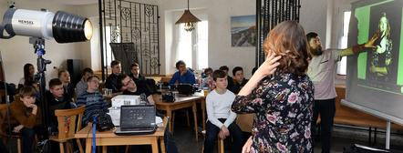 DVF-Jugendworkshop in Bad Schandau - Februar 2018