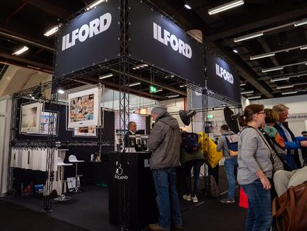Ilford Messestand